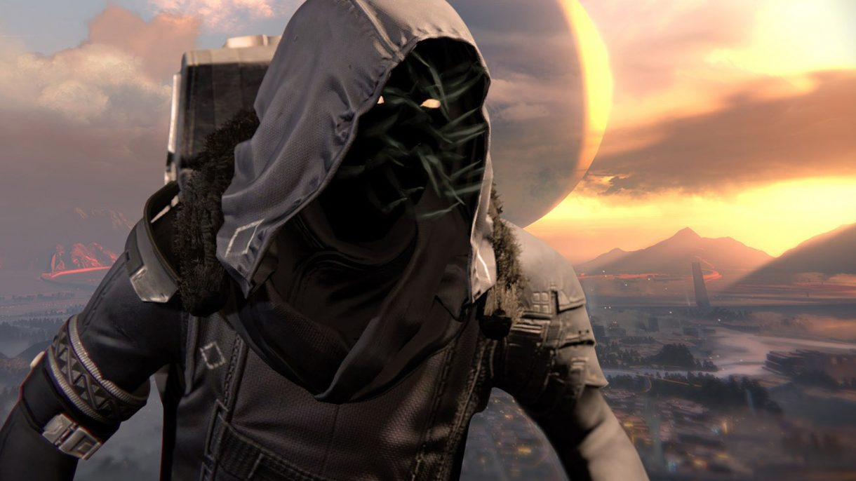 During the week of April 12, Xur can be found inside the Hangar section of the Tower in Destiny 2.