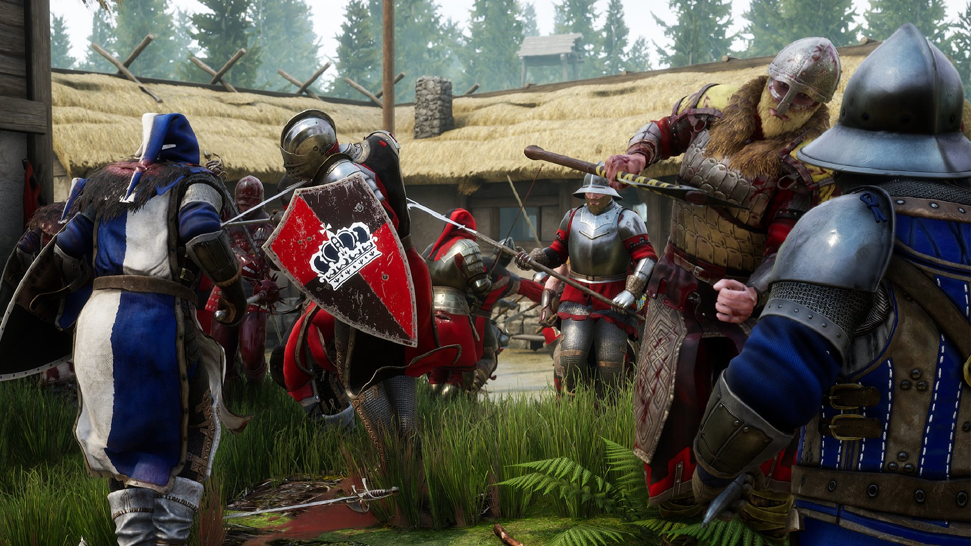 There are a wide variety of game mode types available in Mordhau from Frontline to Team Deathmatch.