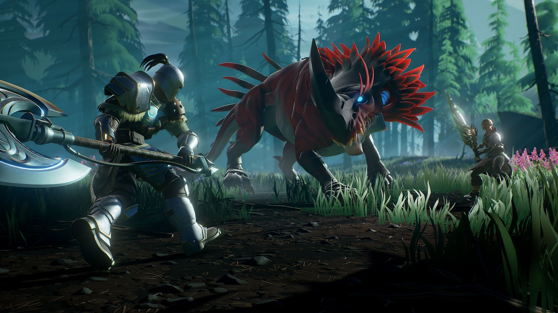 You can't view a health bar when fighting a Behemoth in Dauntless. Instead, you'll need to rely on your knowledge of the Behemoth and its elemental weaknesses.
