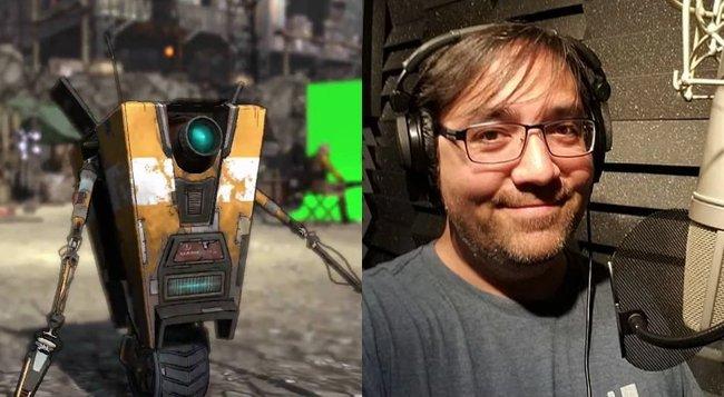 claptrap voice actor borderlands 3