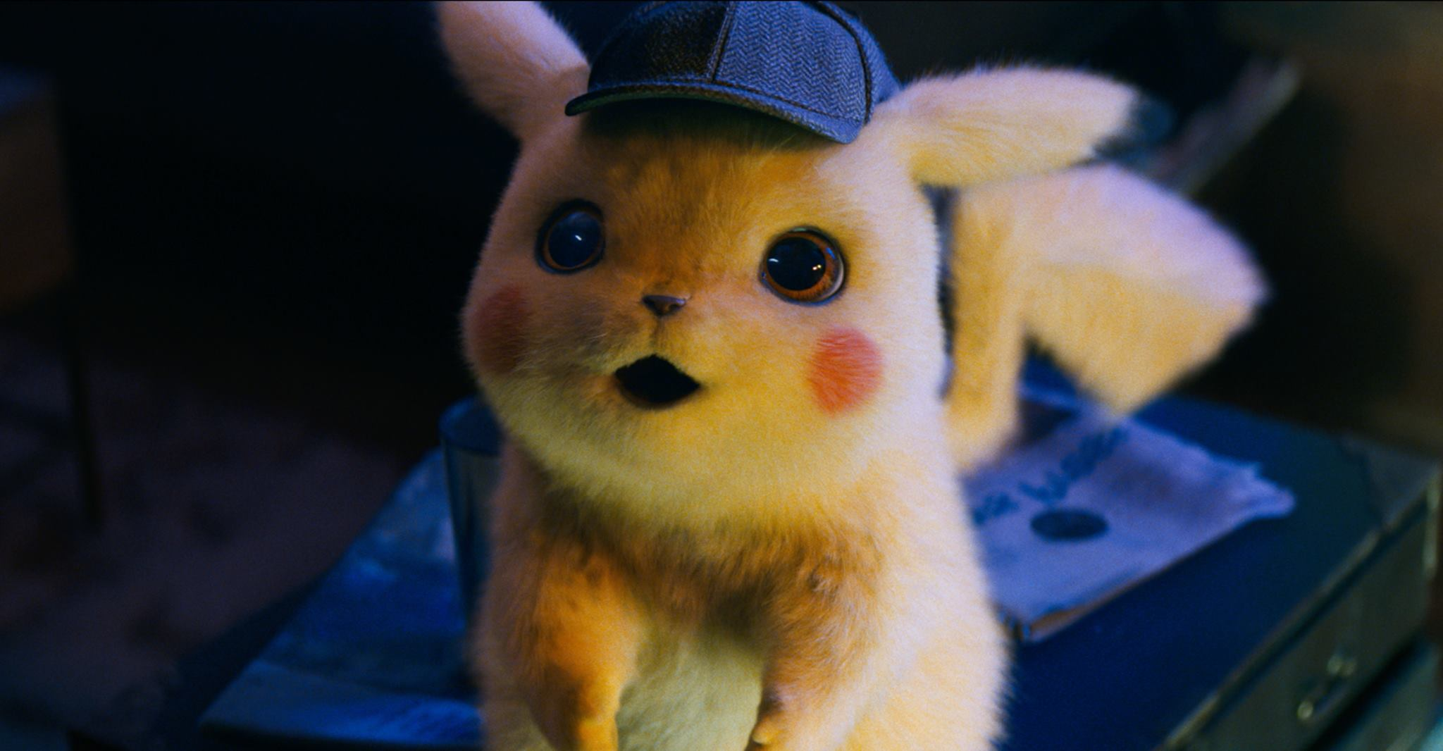 The CGI Pokemon in Detective Pikachu look absolutely fantastic.