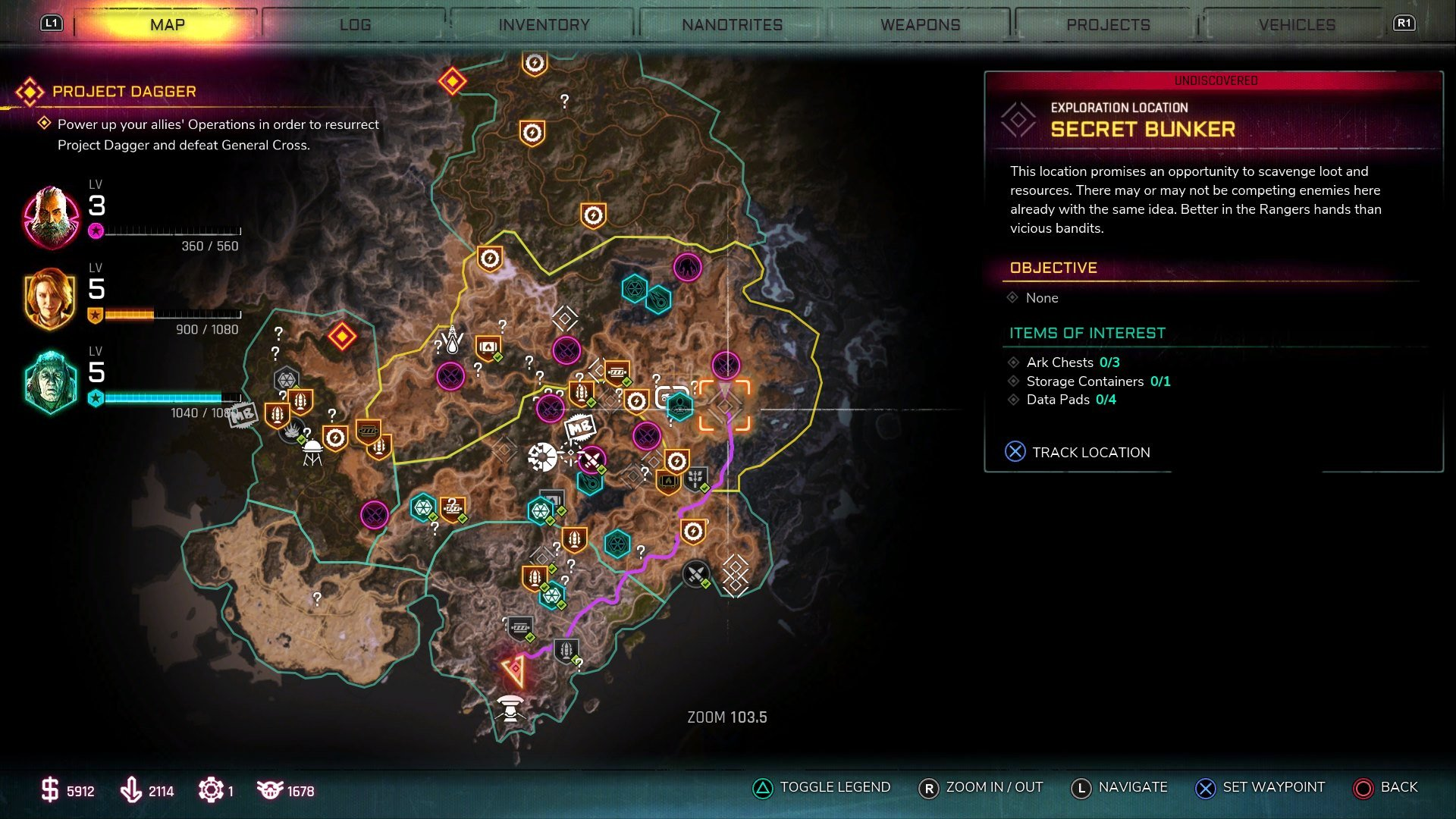 The Secret Bunker and Elon Tusk Easter Egg can be found in the Torn Plains region of the Rage 2 map.