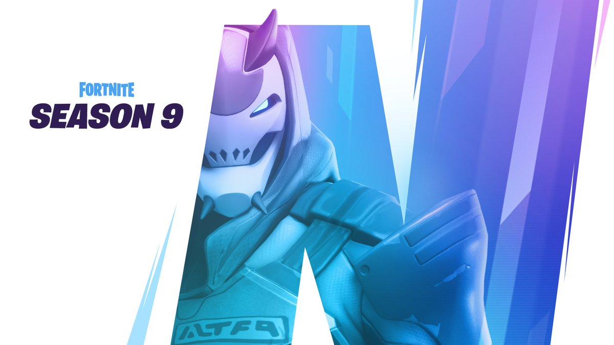 Fortnite Season 9 will begin on Thursday, May 9.