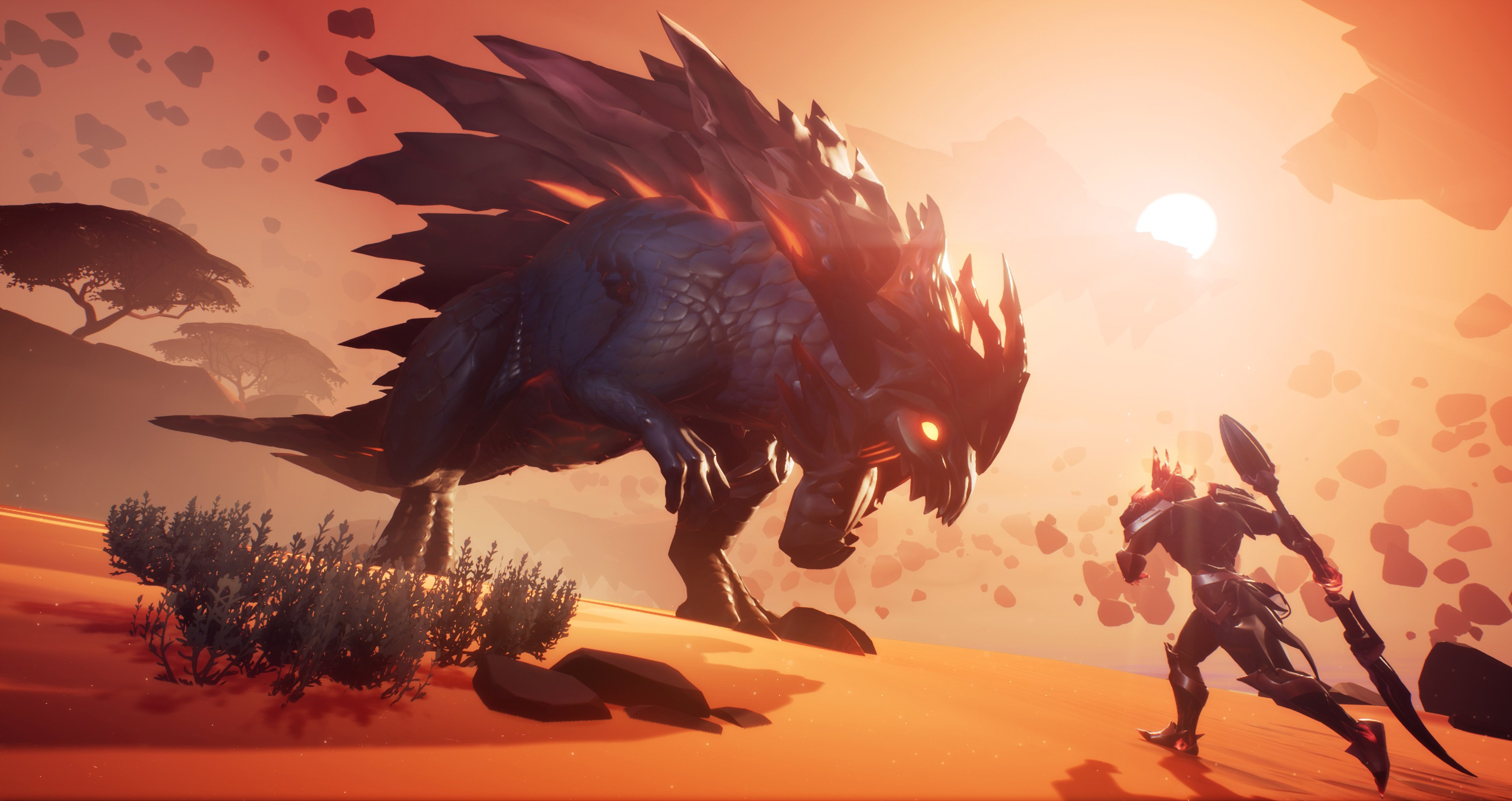 To get Scorchstone in Dauntless, you'll need to hunt a Behemoth called the Scorchstone Hellion using a Frost weapon.