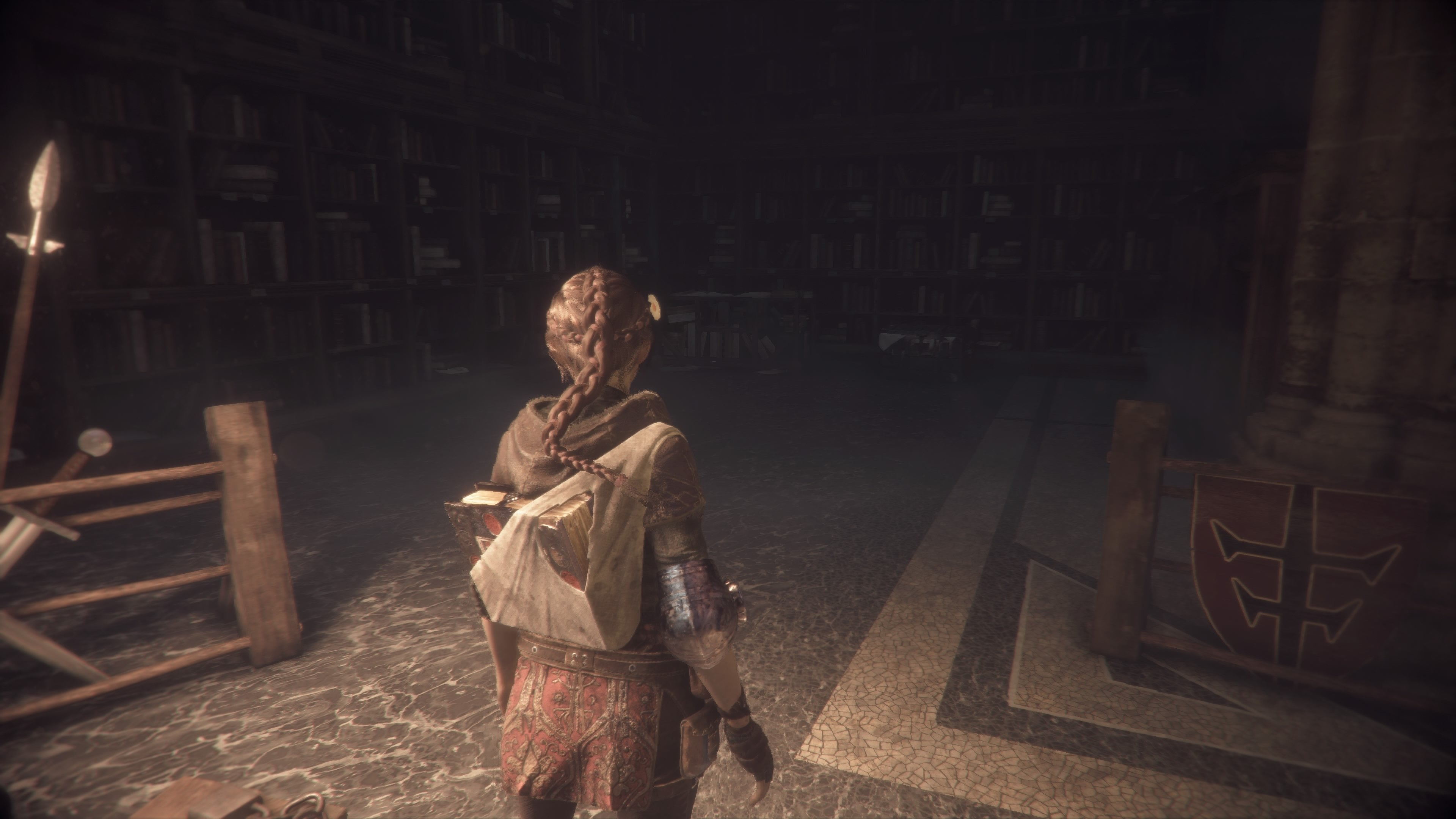 Reading Stone - Gift locations in A Plague Tale: Innocence