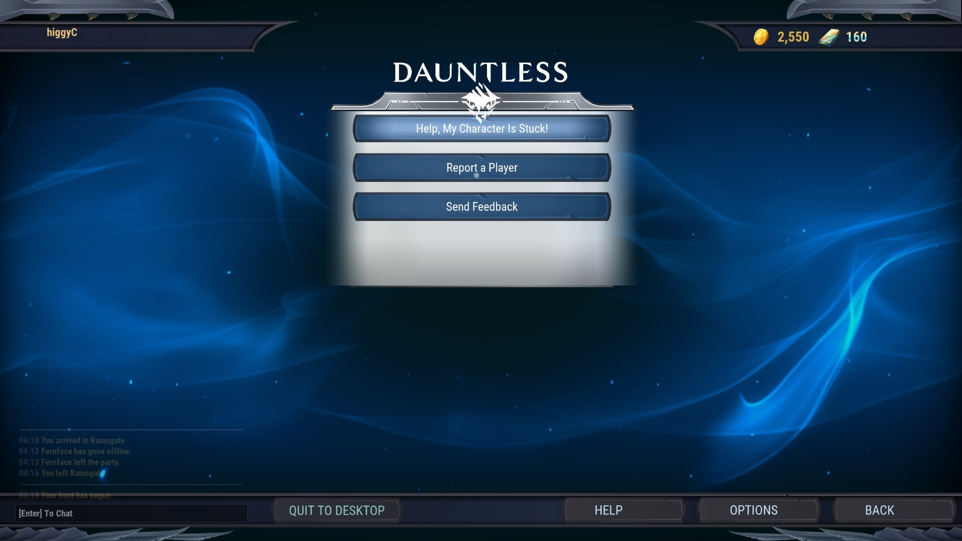 How to get unstuck in Dauntless