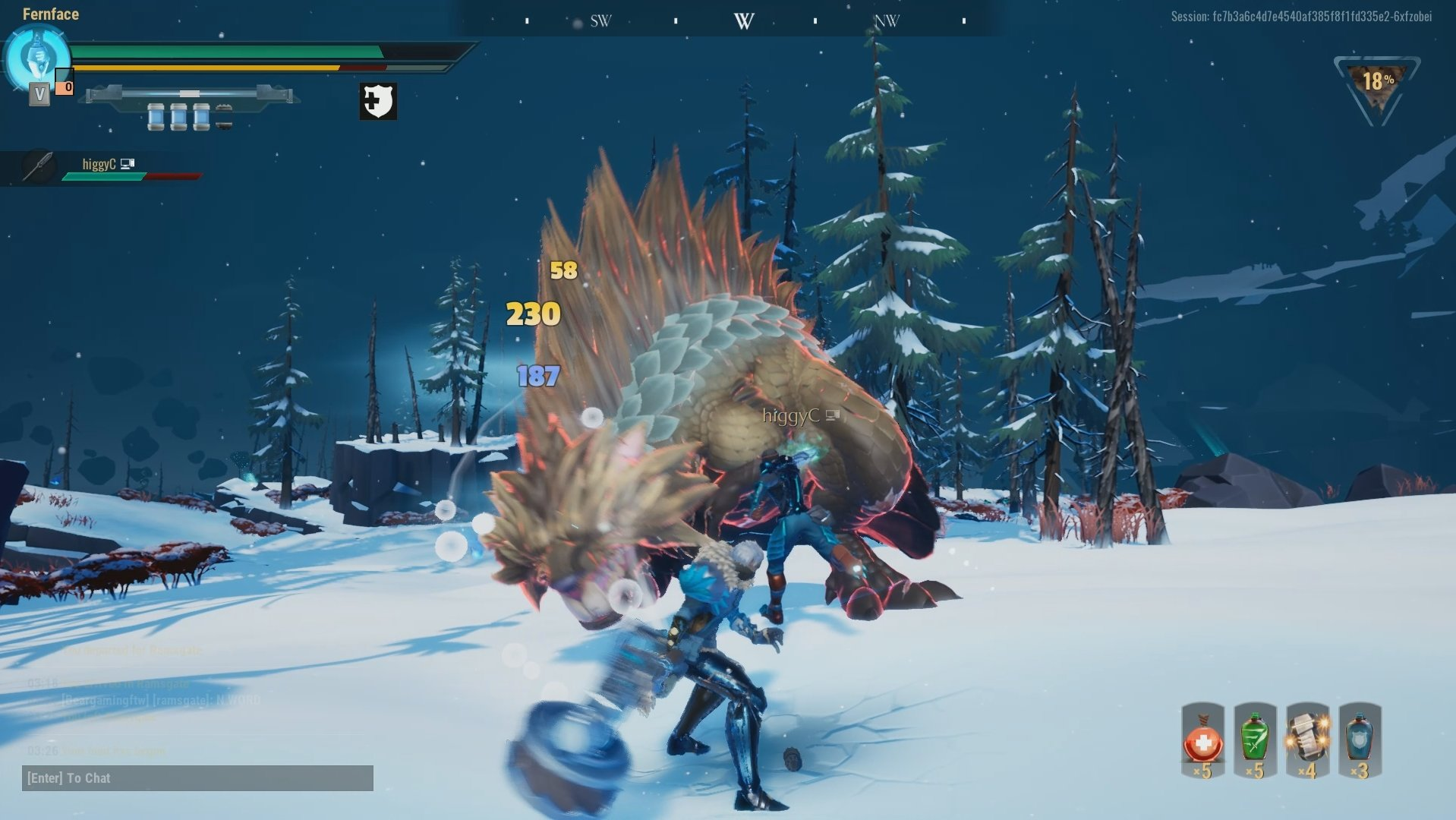 Stagger guide for Dauntless