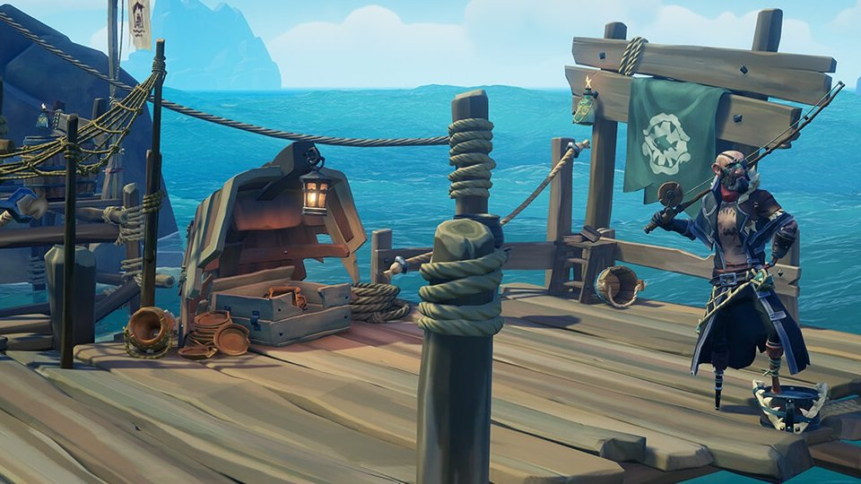 Killer Whale Ship Set Sea of Thieves