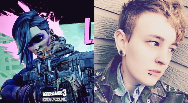 Lorelei Borderlands 3 voice actor