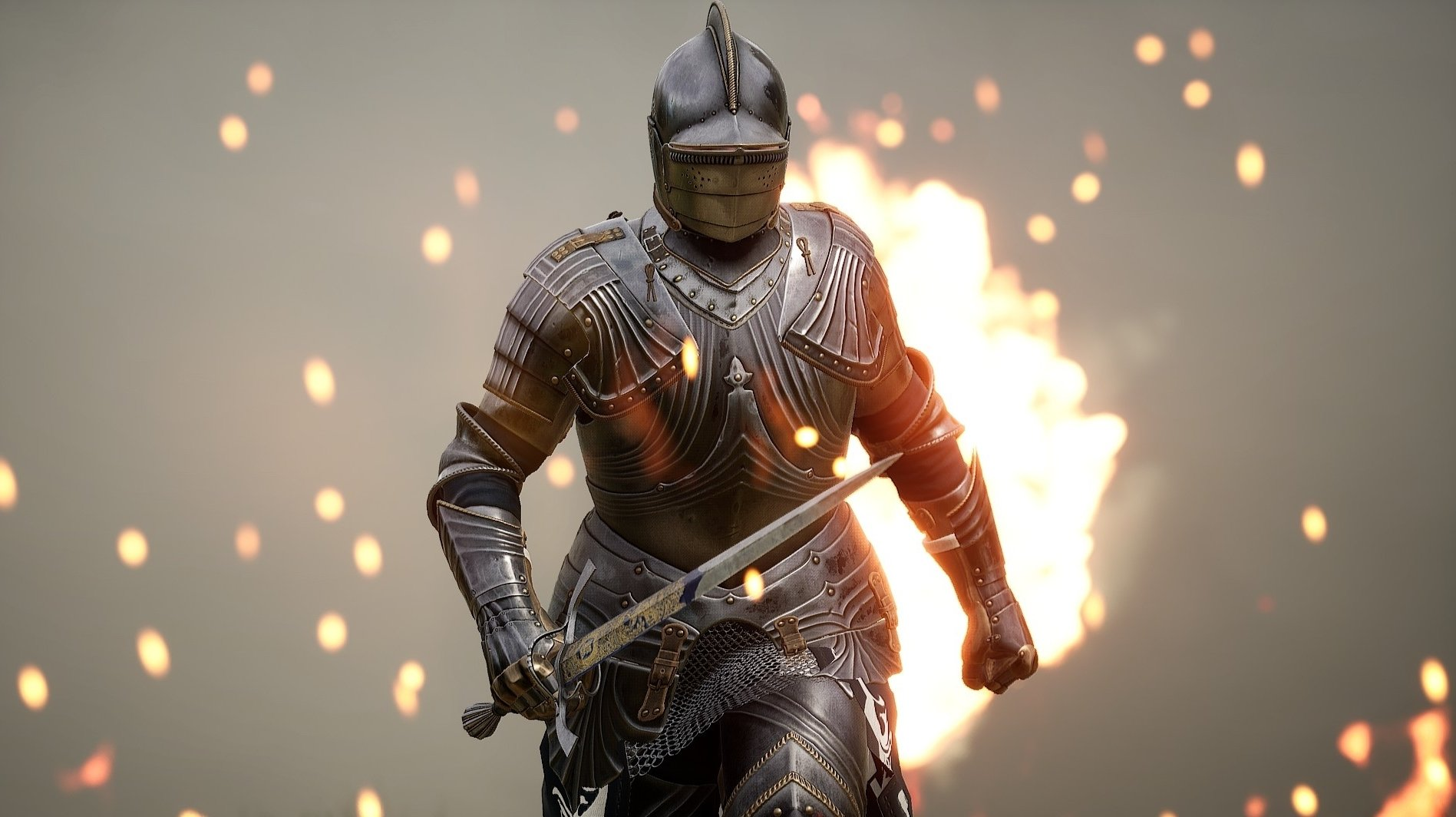 Mordhau is currently exclusive to PC, though a future console port isn't out of the question.