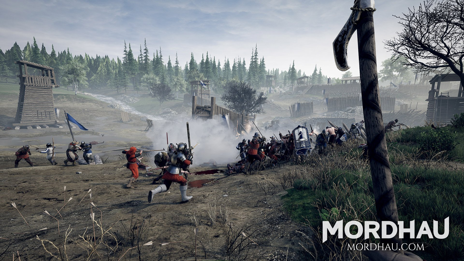 In Mordhau, there are no single-player options aside from playing offline with bots. Triternion has no future plans to add a single-player campaign to Mordhau.