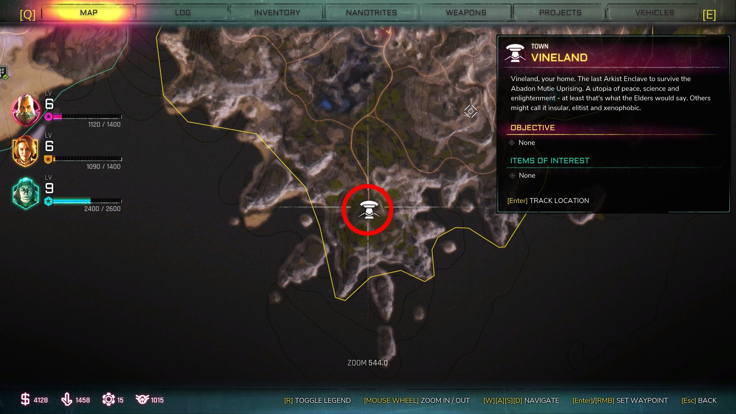Vineland Ark - All Ark locations in Rage 2