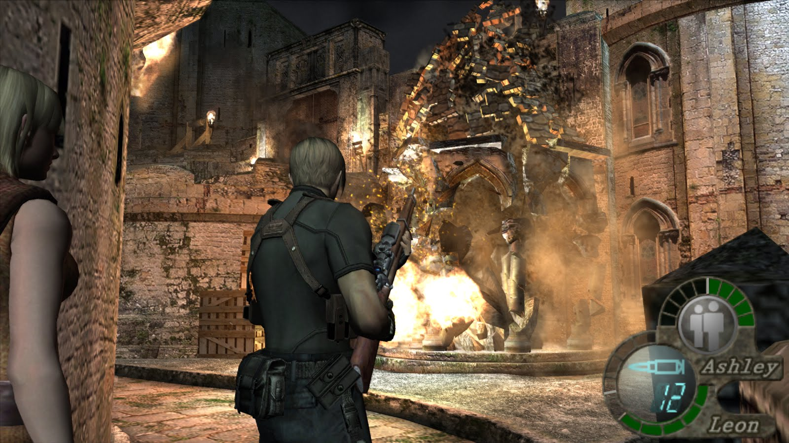 How many chapters in Resident Evil 4