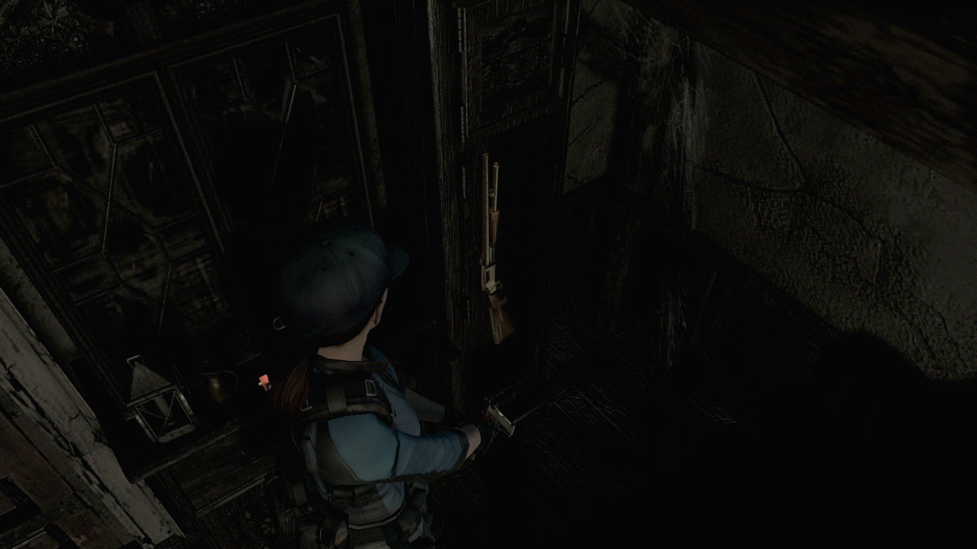 Resident Evil HD Remaster Broken shotgun
