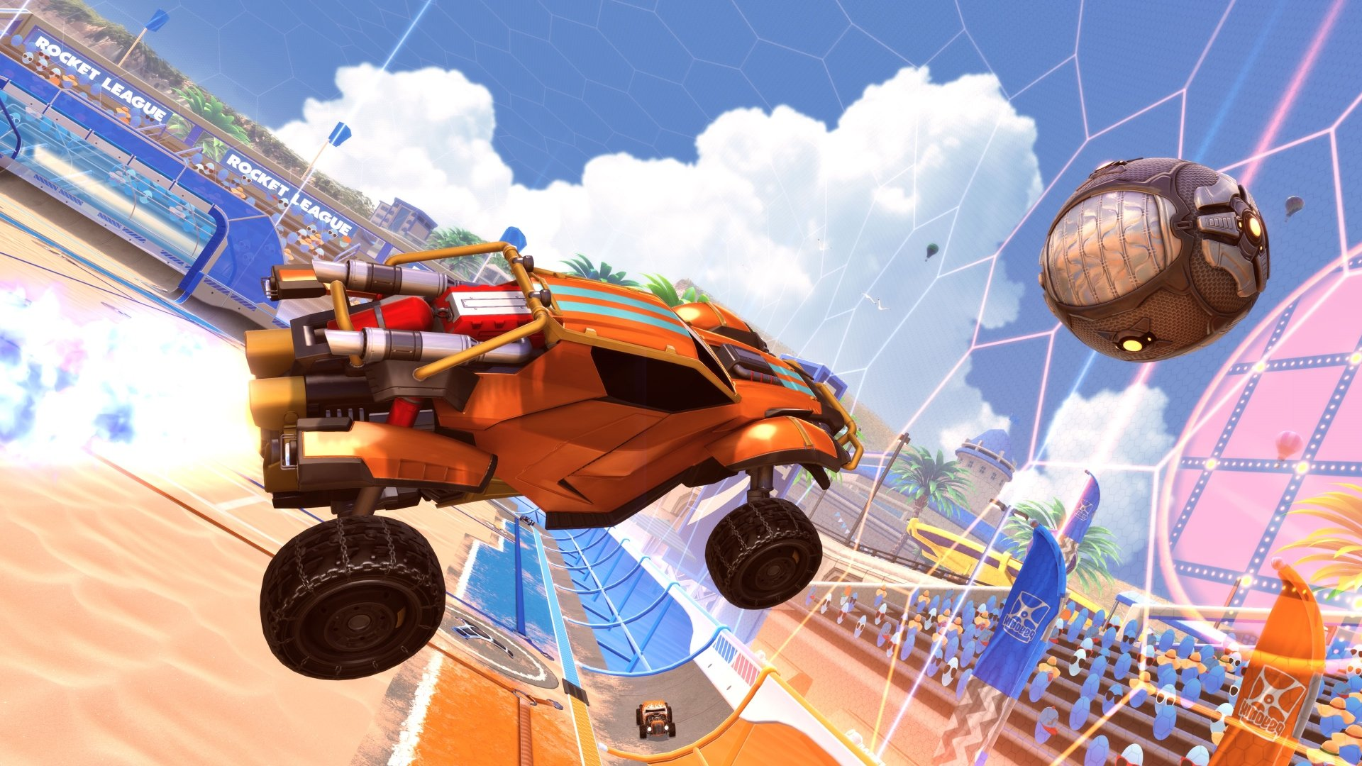Rocket League - Epic purchases Psyonix