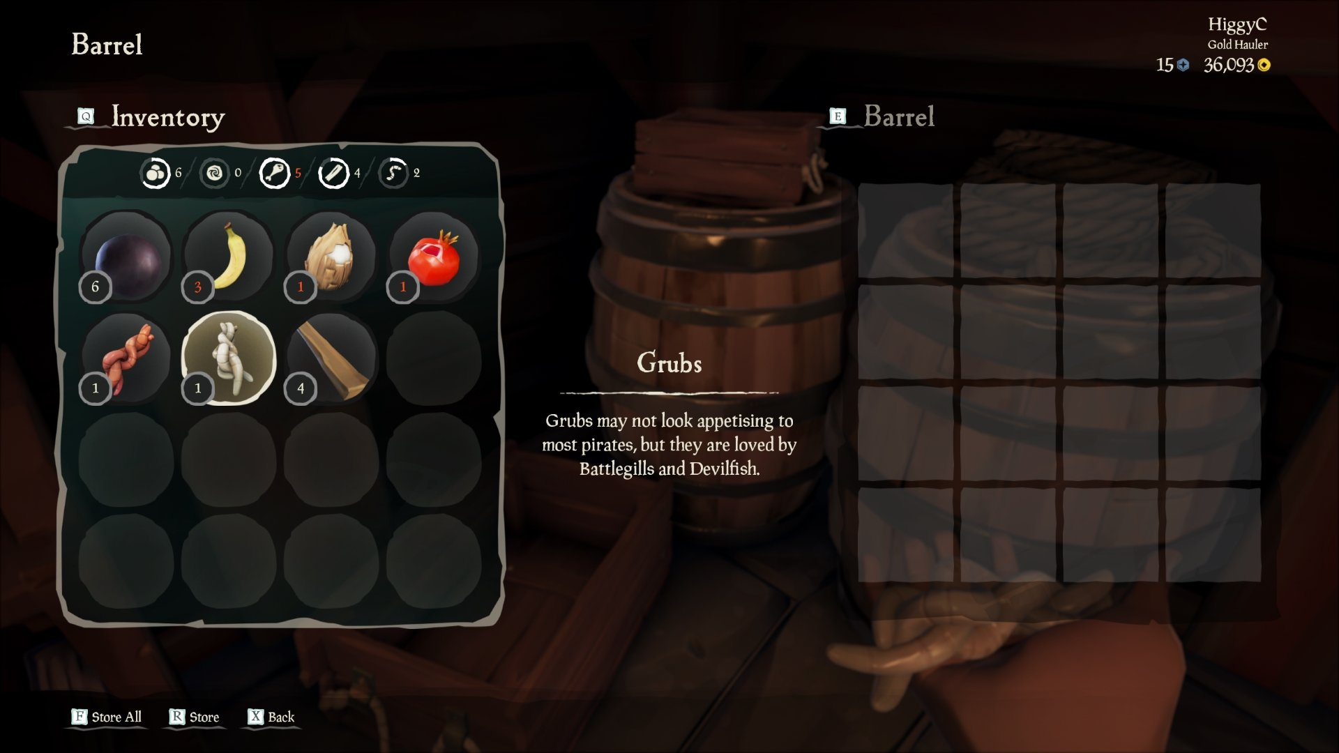 How to fish in Sea of Thieves