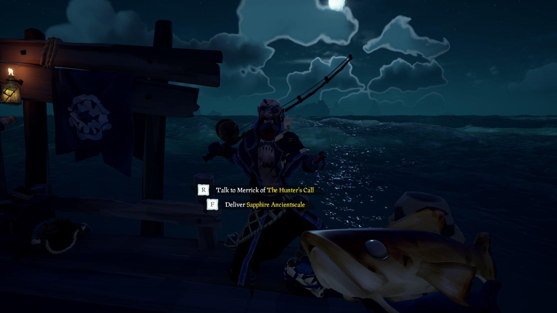 Merrick standing - Where to find Merrick in Sea of Thieves Anniversary Update