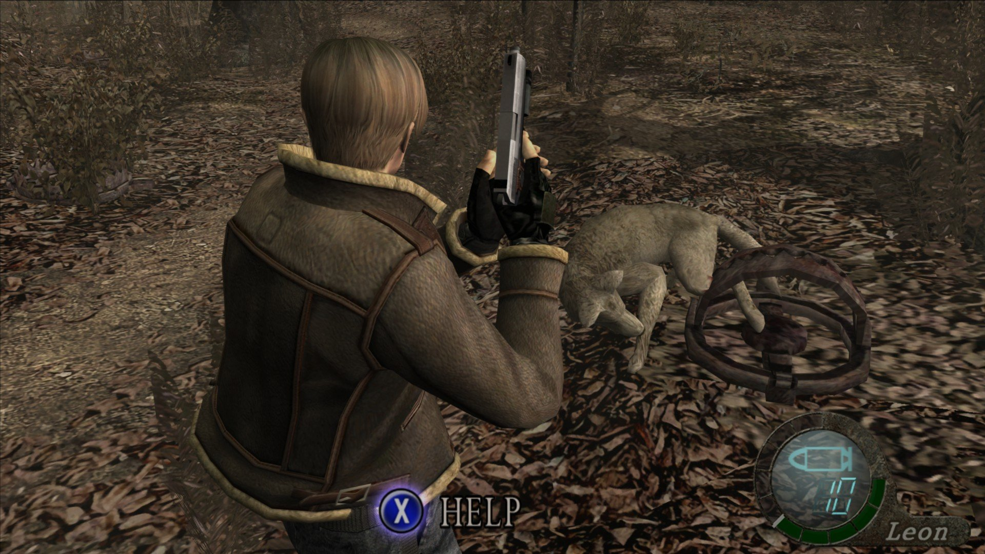 Save or kill dog in Resident Evil 4