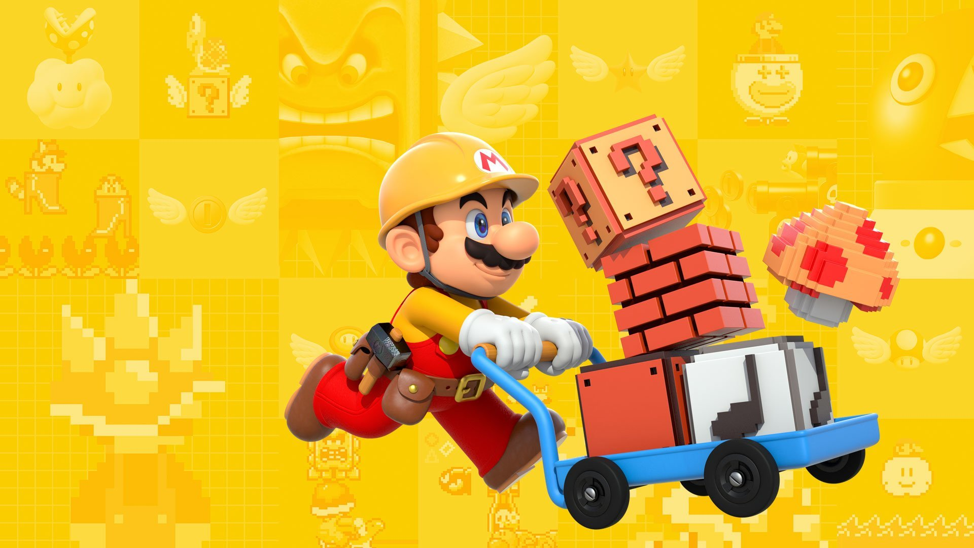Story Mode will let Mario explore over 100 courses created by Nintendo!