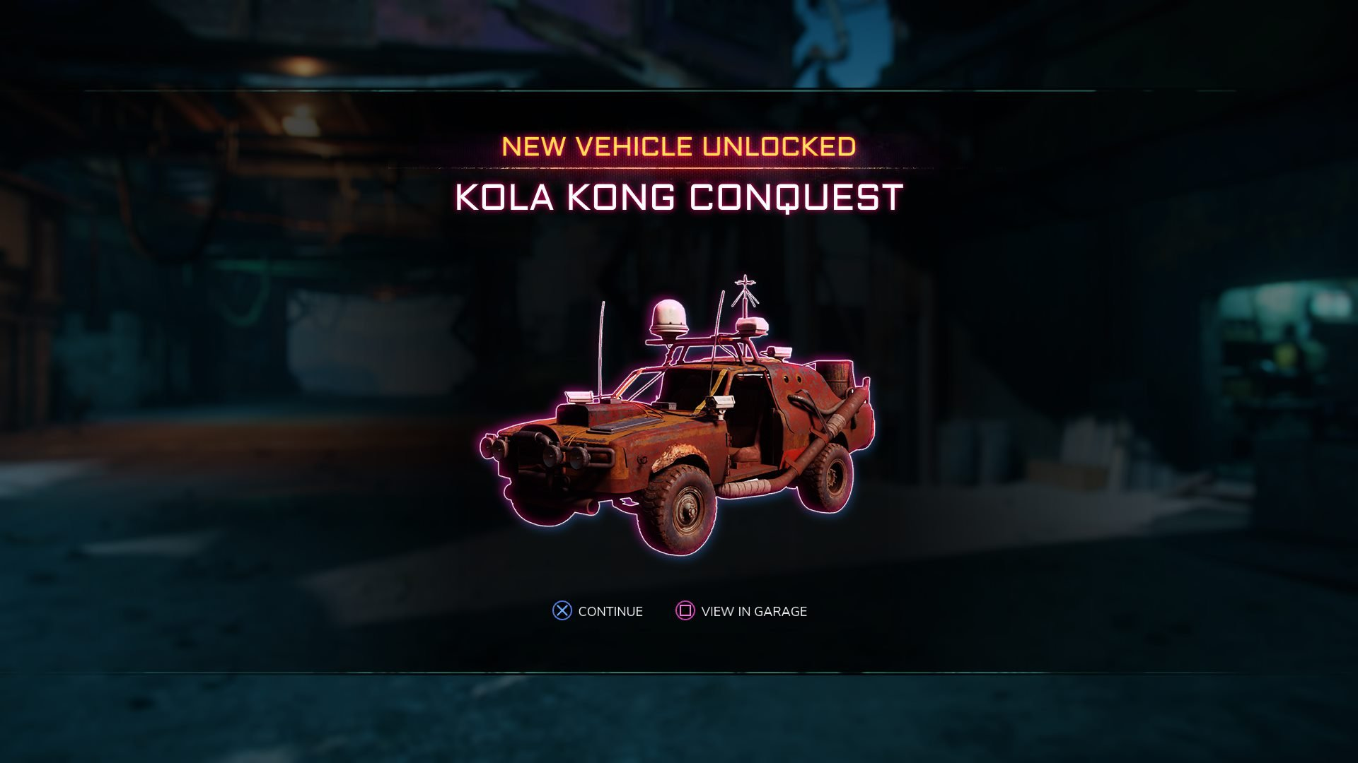 unlocking the Kola Kong Konquest - How to get all vehicles in Rage 2