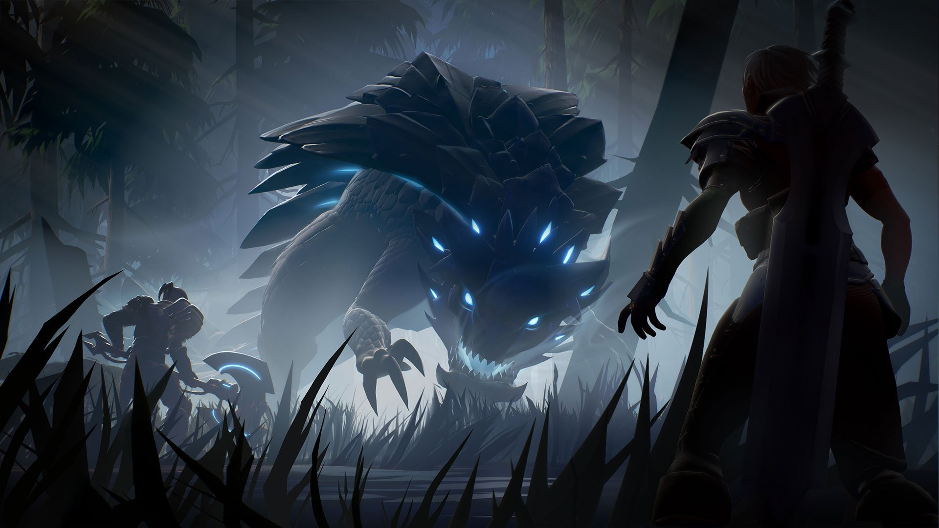 The Lantern emits billowing lights that guide you in the direction of the Behemoth you're hunting in Dauntless.