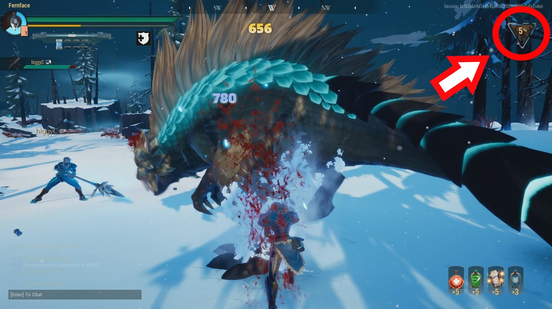 What is the Danger Meter in Dauntless and what does it do