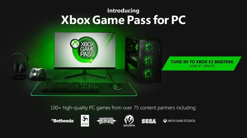 Xbox Game Pass will soon be available on Windows PC.