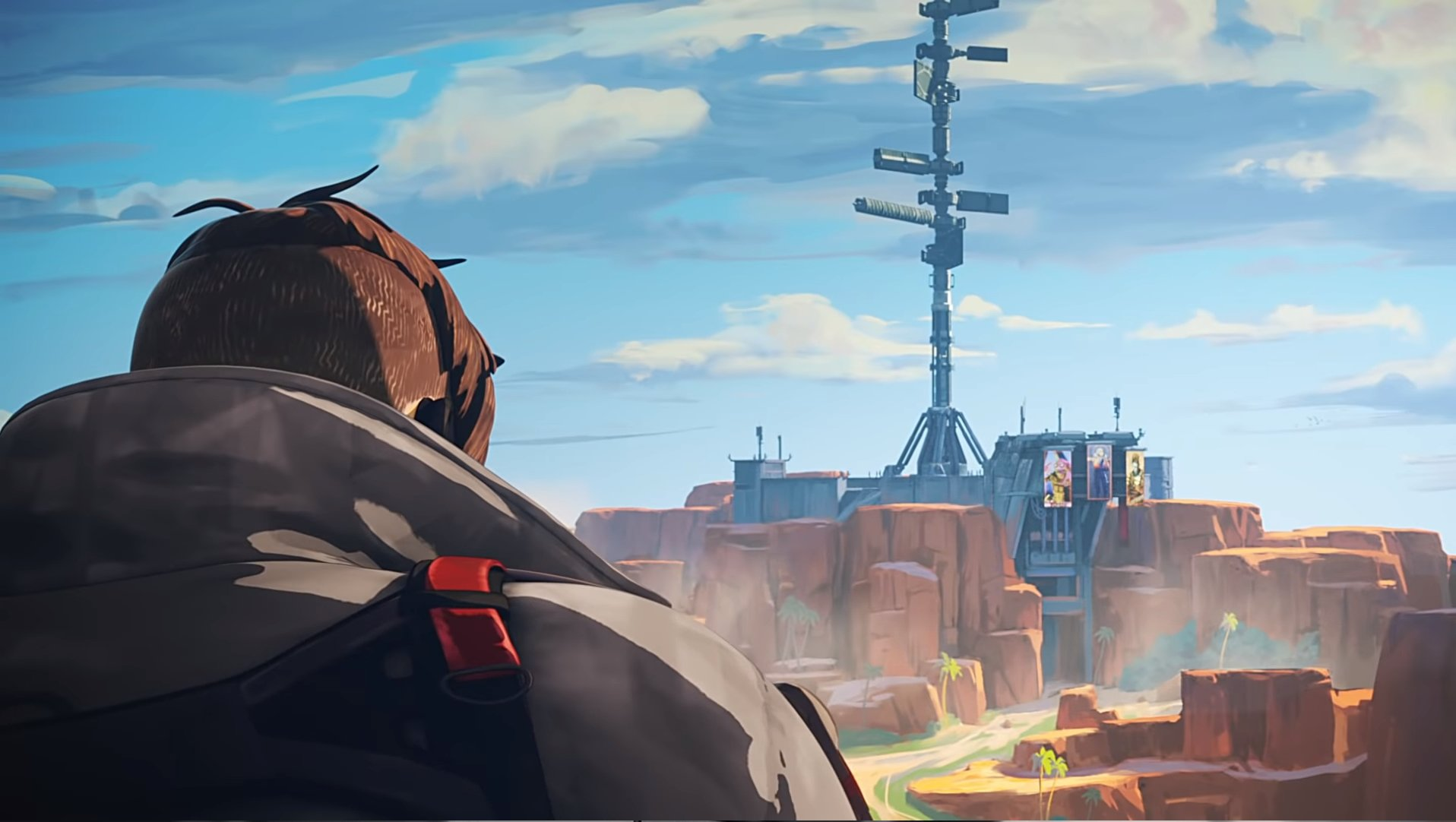 Crypto has set his sights on Apex Legends' Repulsor tower.