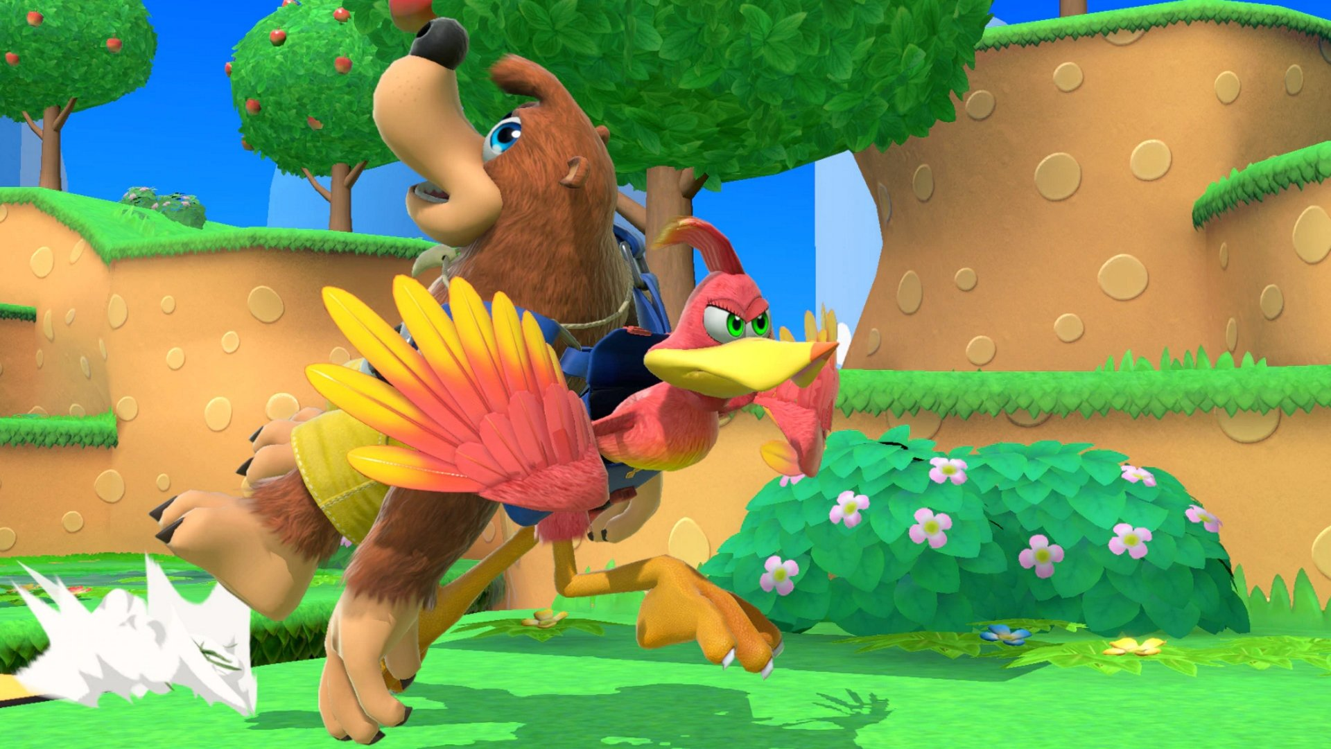 Banjo-Kazooie in Super Smash Bros Ultimate screenshots