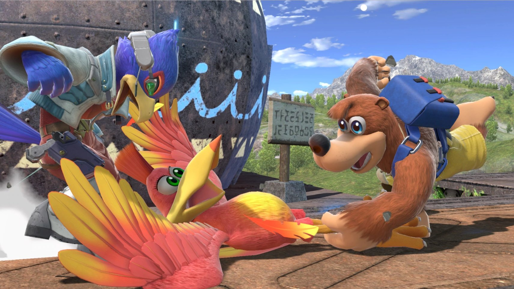 New Banjo-Kazooie Smash Ultimate images