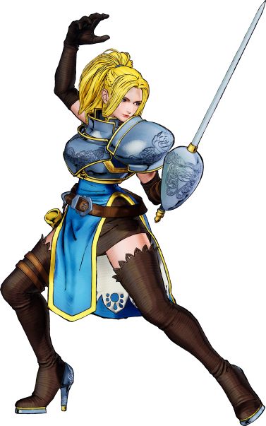 Charlotte - Best starting characters in Samurai Shodown