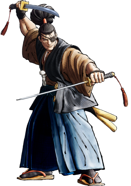 Jubei - Best characters for beginners in Samurai Shodown