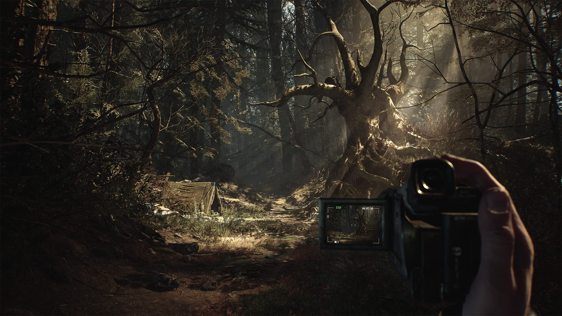 The Blair Witch game will feature a camcorder mechanic that will help you piece together puzzles related to the story.