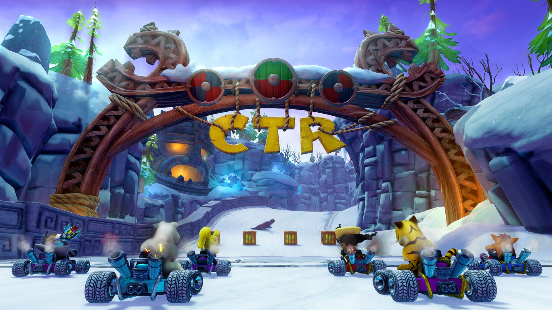 To change your difficulty setting in Crash Team Racing Nitro-Fueled, you'll need to start a new save file.