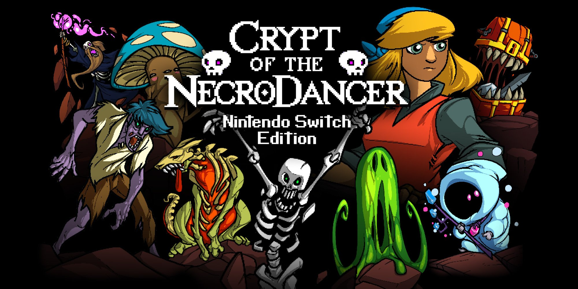 Crypt of the NecroDancer is on sale for both Nintendo Switch and Steam.