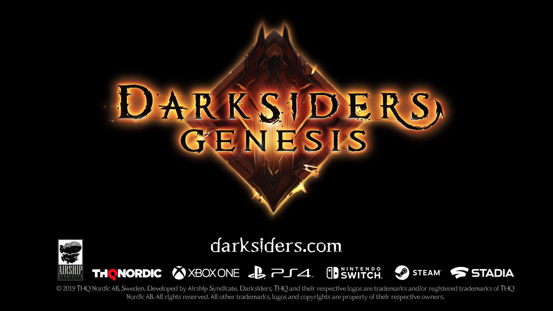 THQ Nordic confirms Darksiders Genesis ahead of E3 2019.
