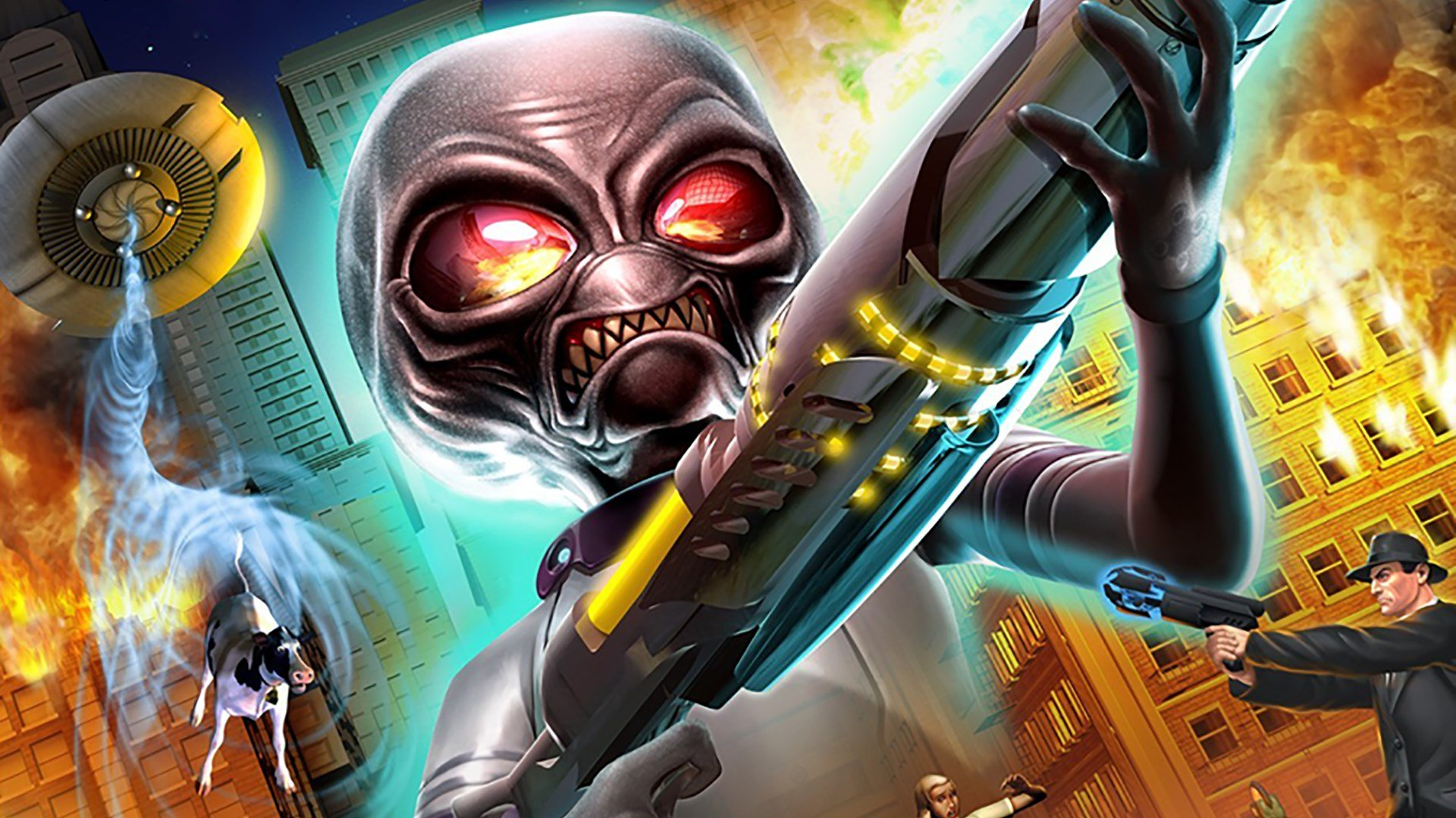 We may get more information about Destroy All Humans this August.