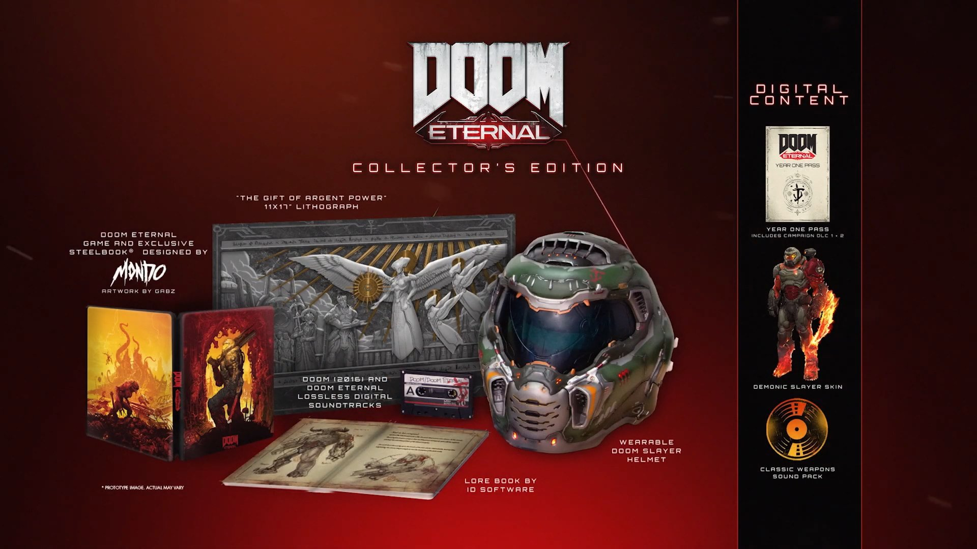 Doom Eternal will release on November 22, and is getting a Collector's Edition that includes an actual helmet!