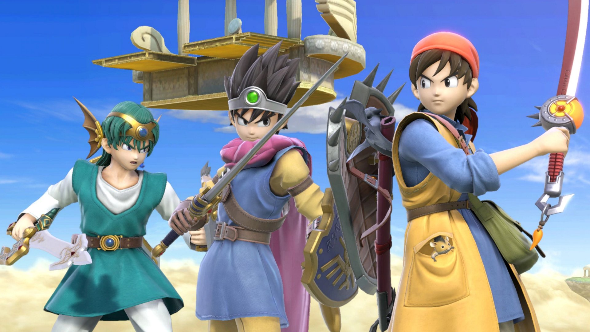 New Dragon Quest Hero images Smash Ultimate
