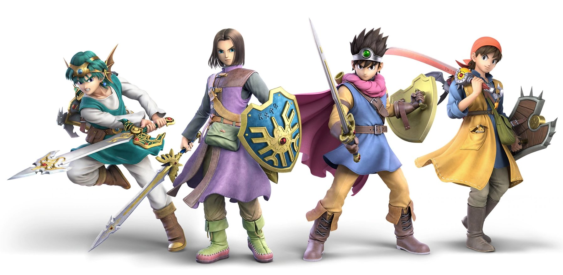 Smash Ultimate new Dragon Quest Hero Screenshots