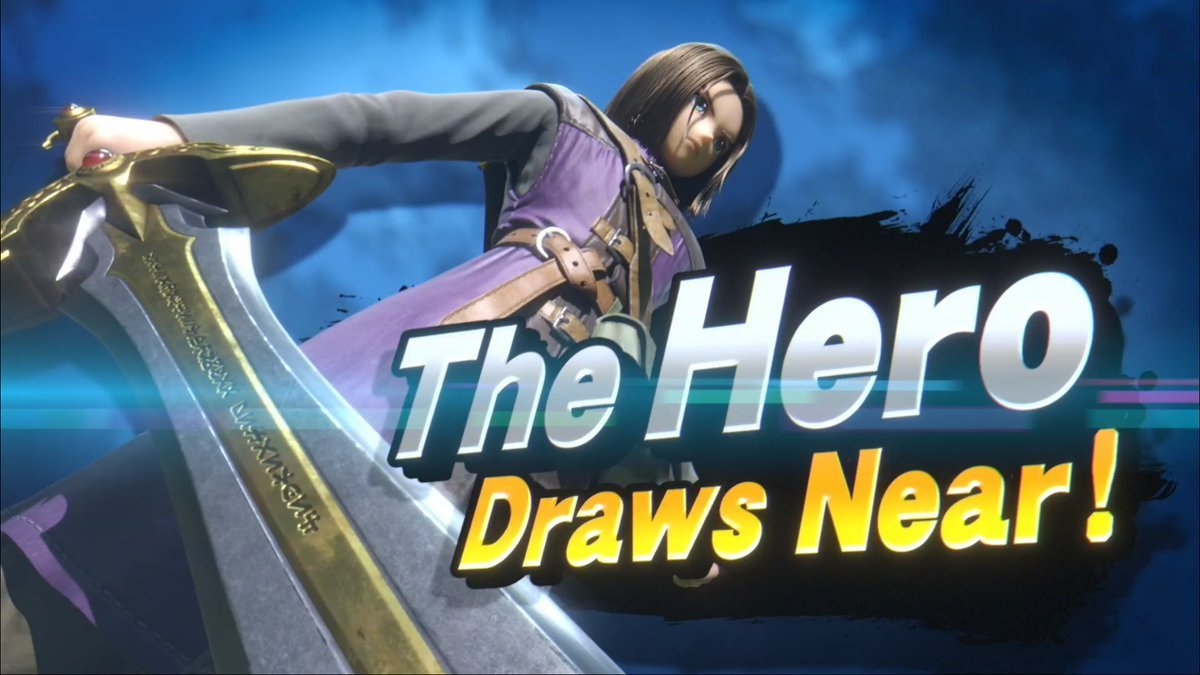 Dragon Quest Hero DLC Fighter for Smash Ultimate - New Characters in Smash Ultimate