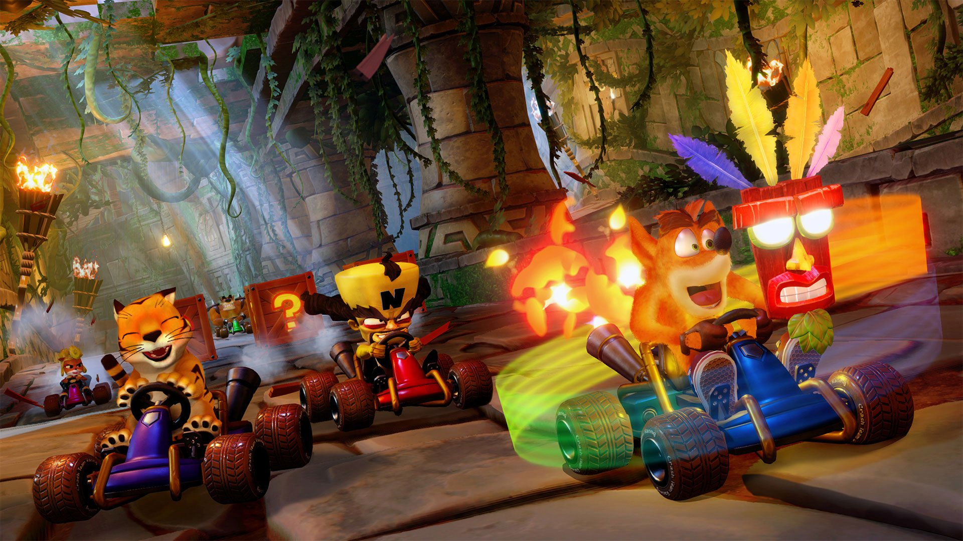 The key to getting 101% completion in Crash Team Racing Nitro-Fueled is to earn 100% completion, then do the Relic Challenges a second time while earning a Gold Relic in each.