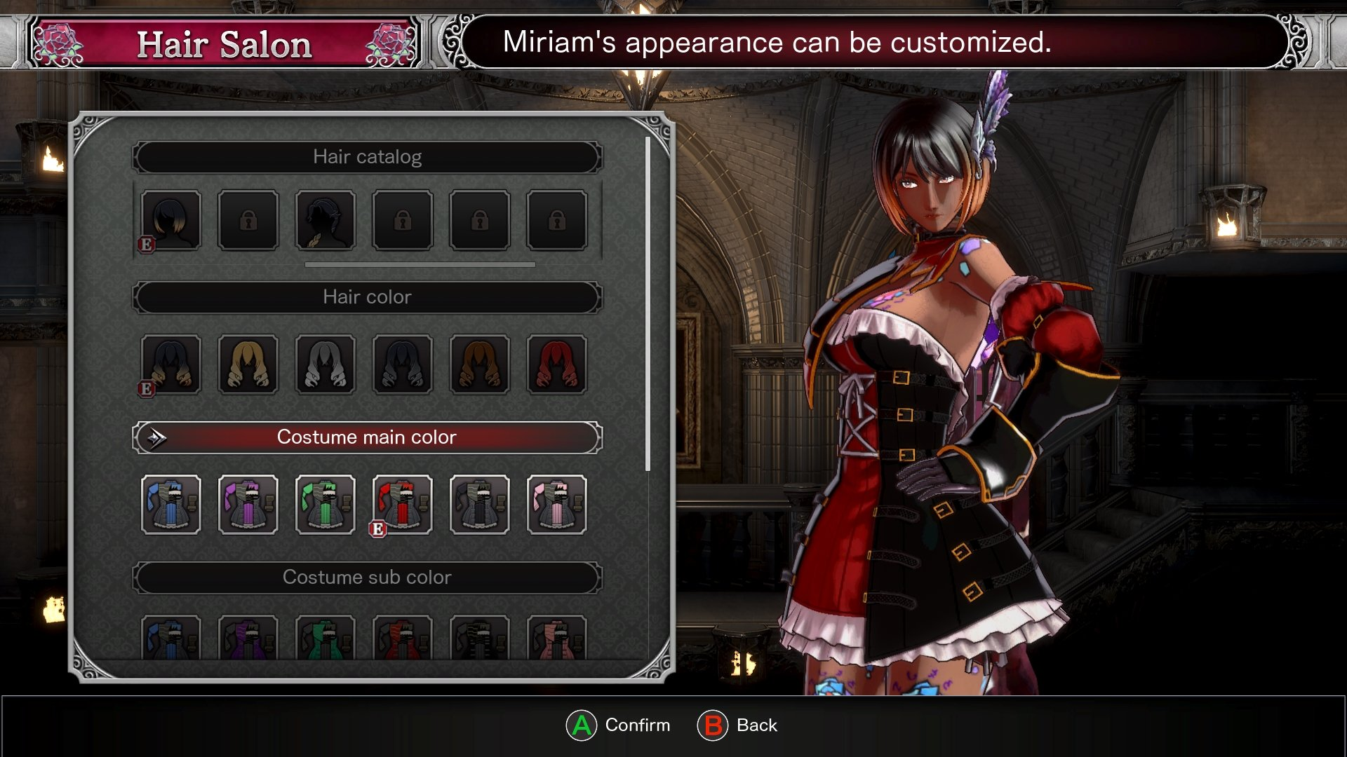 How to customize your character in Bloodstained: Ritual of the Night