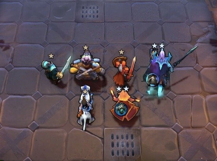 How to level up heroes in Dota Underlords © Valve Corporation