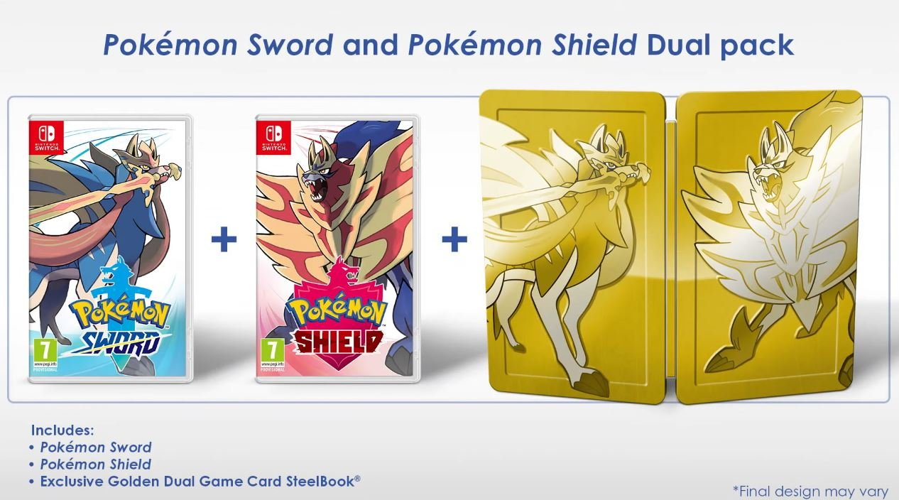 Pokemon Sword and Shield will offer a Double Pack that includes both games.