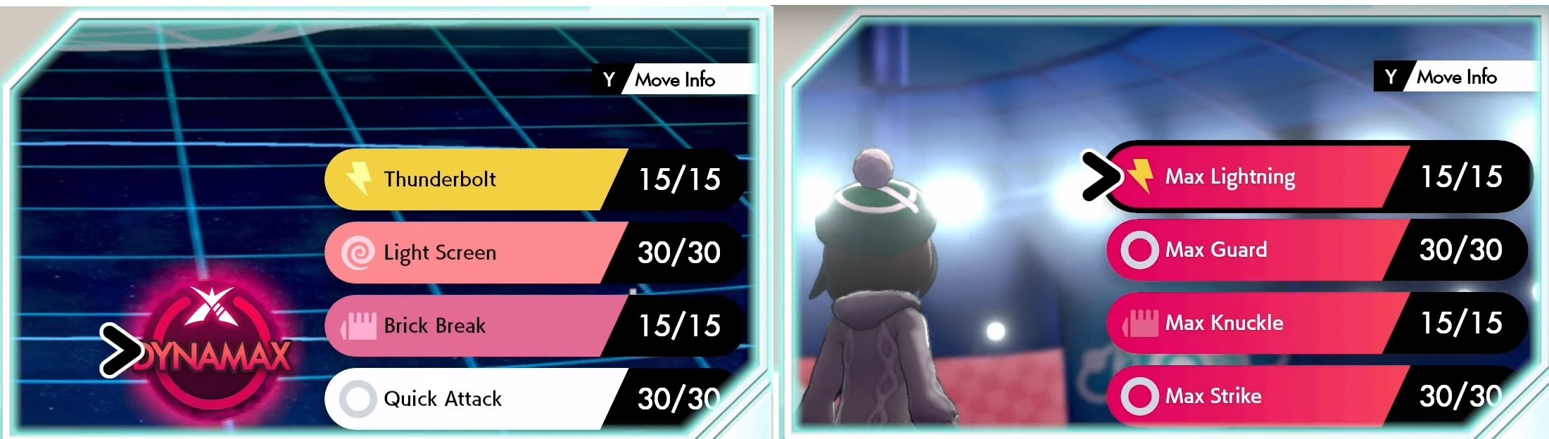 Pokemon Sword and Shield Dynamax moves