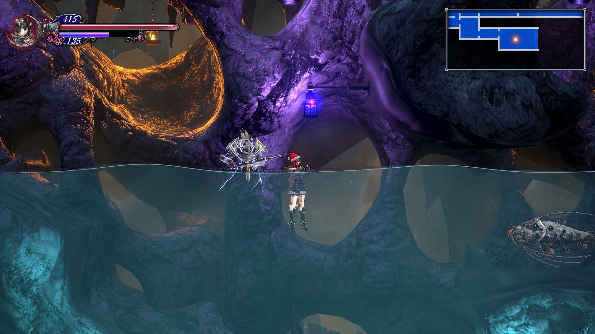 How to reach underwater chests bloodstained ritual of the night