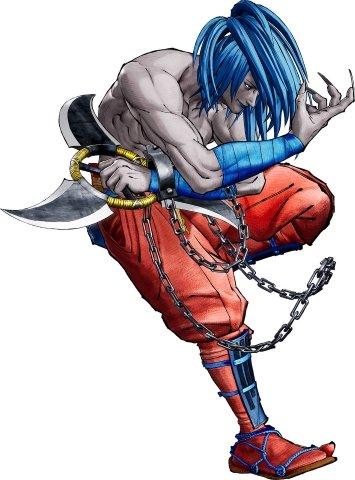 Samurai Shodown DLC Character Basara