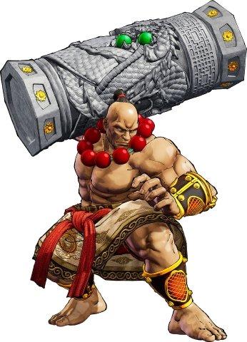 Wan-Fu Samurai Shodown DLC character