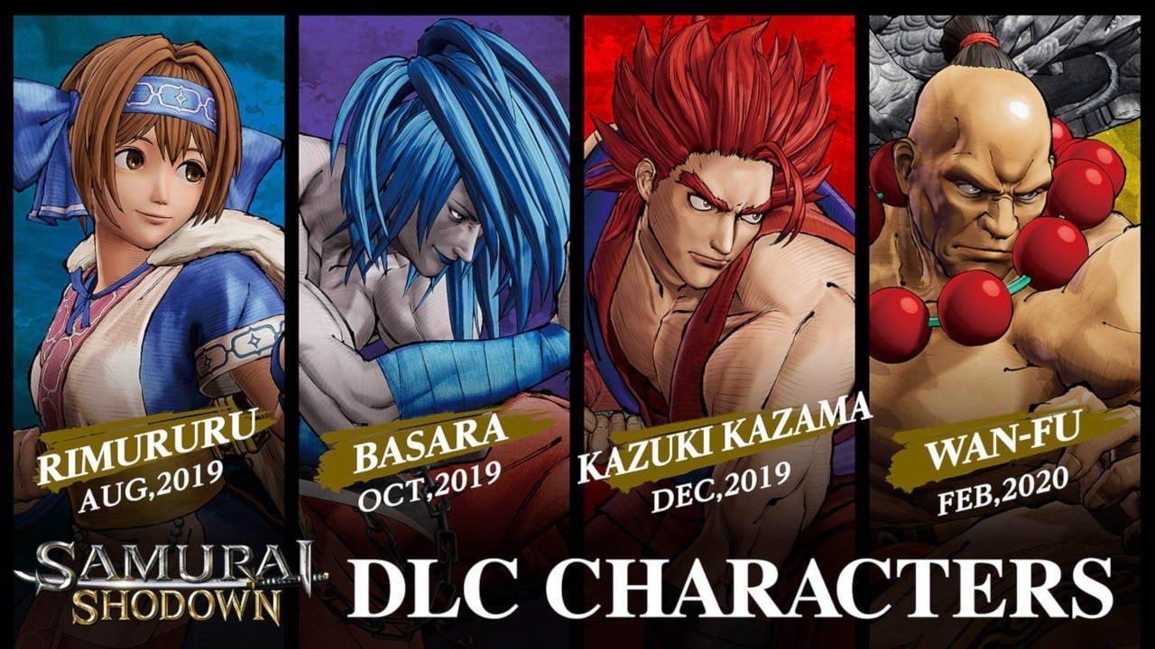 Samurai Shodown DLC characters announced